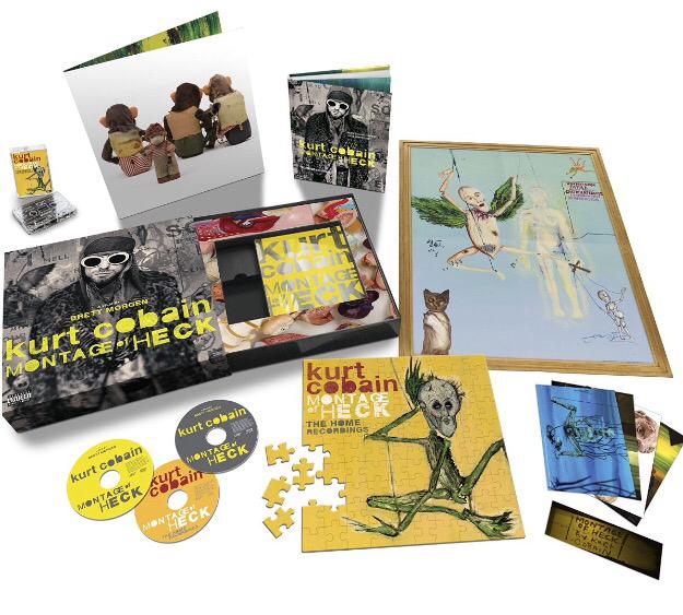 Escucha la versión previa de Sappy del álbum solista de  Kurt Cobain (2/4)