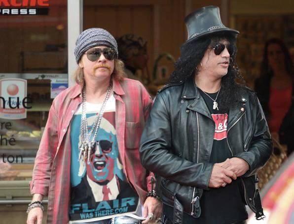 Guns N' Roses (Ya les llegaron al precio)